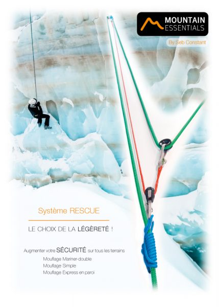 Mountain Essentials - CREVASSE RESCUE KIT - équipement pour la sécurité sur glacier