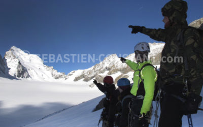 Barre des Ecrins – Commemoration of Whymper ascent