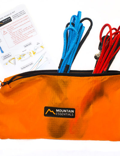 Mountain Essentials - Crevasse rescue Kit