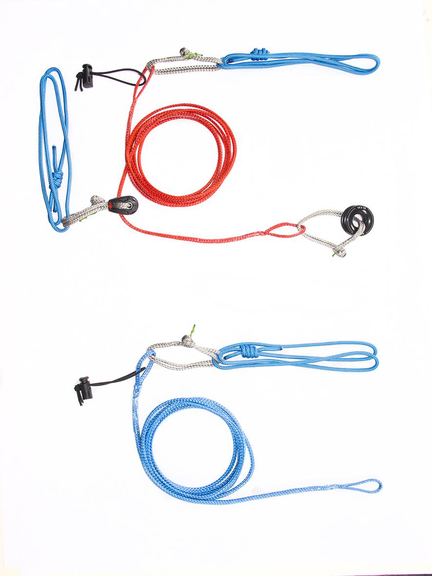 CREVASSE RESCUE KIT – kit pour Mouflage Mariner double / mouflage simple / Mouflage rapide en paroi et Passage des noeuds de freinage