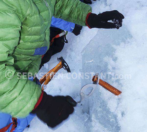 progresser en glace
